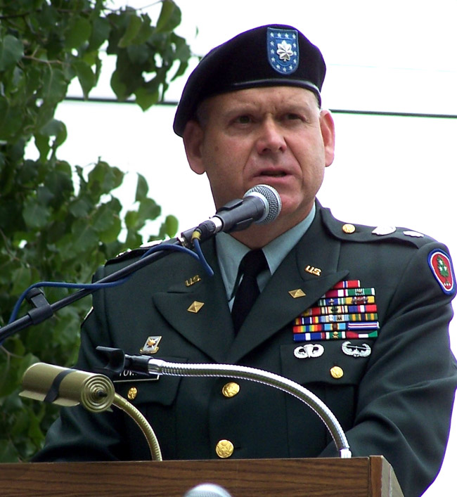 Lieutenant Colonel Marty L. Towater