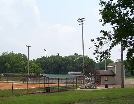 Ball field at Edwards Park.