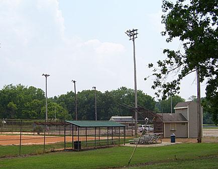 Ball field at Edwards Park.