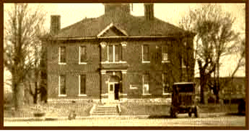 The Former Carroll County Courthouse that burned in 1931.