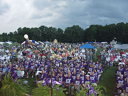Relay for Life at Veterans Park.