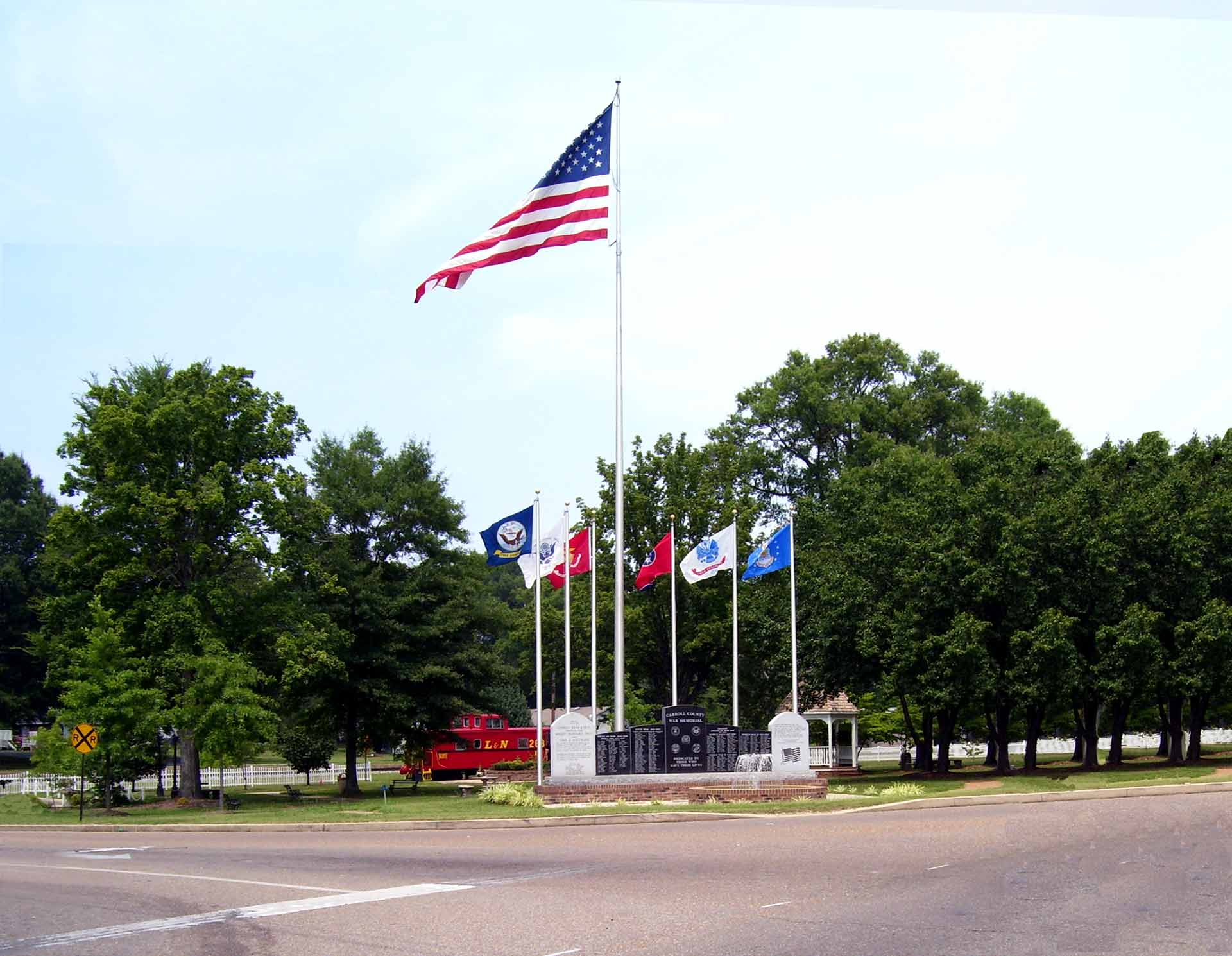 Historic Thomas Park.